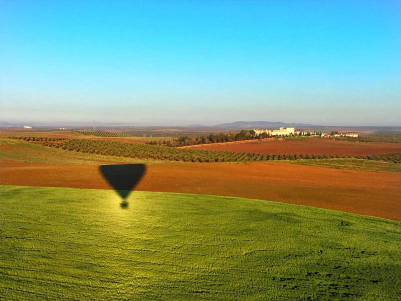 vuelo globo aerostatico extremadura aerodromo moral 2