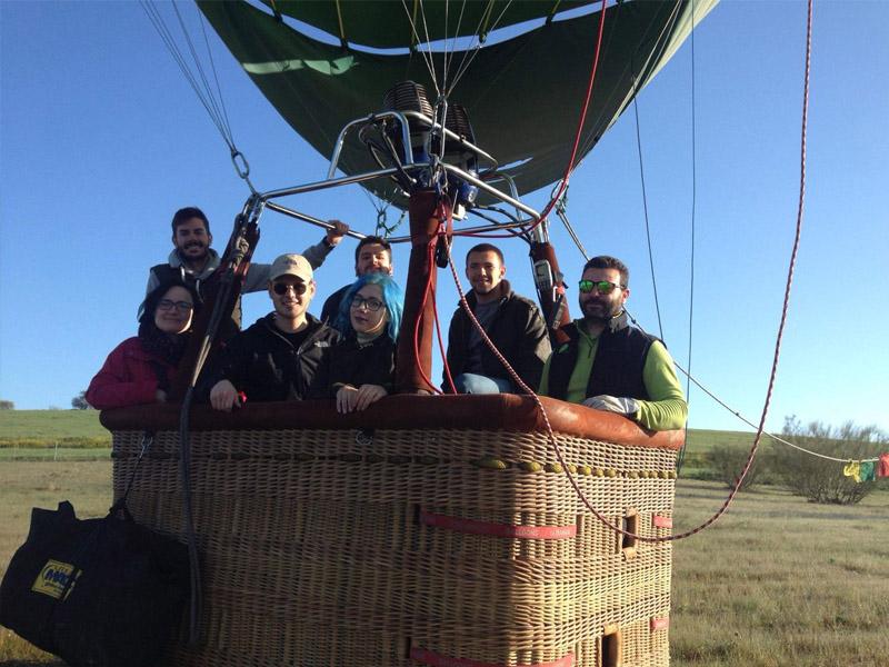 vuelo globo aerostatico extremadura aerodromo moral 4